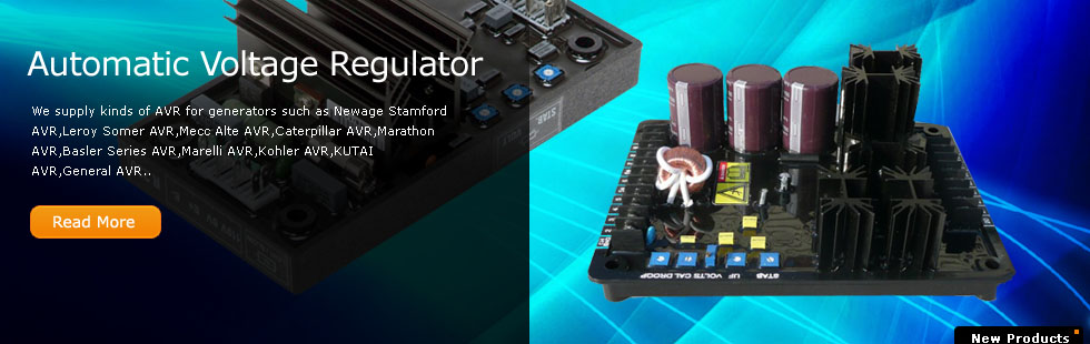 AVR-Automatic Voltage Regulator  in Generator set parts