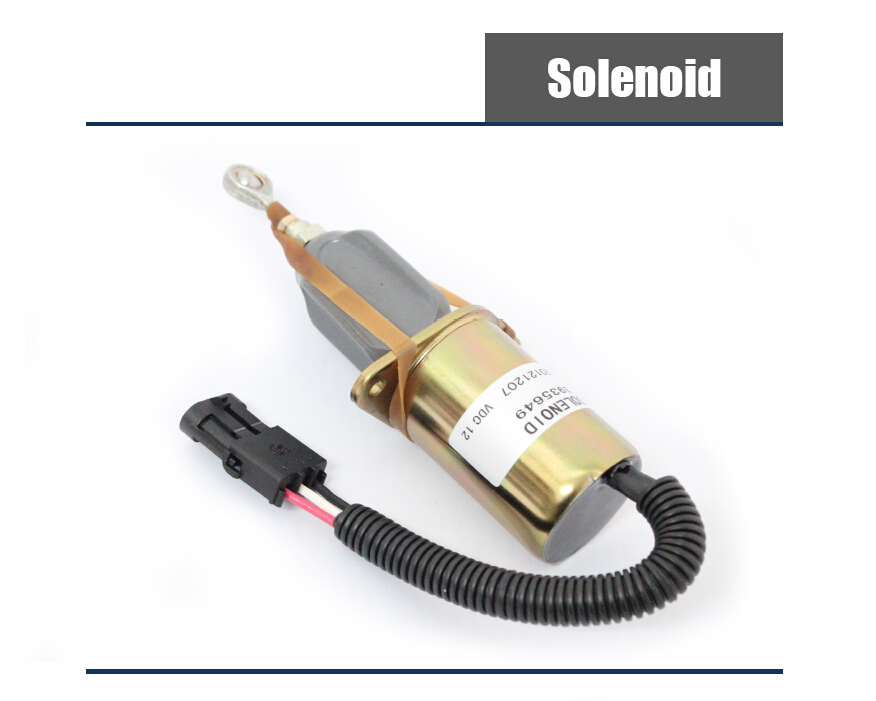 Stop Solenoid in Diesel Engine Parts Store